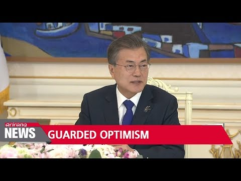 "After inter-Korean summit announcement, S. Korea's Moon says ""ultimate goal, getting rid of all ..."