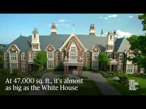 For sale in Oakville: A $65-million mansion