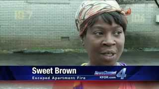 Sweet Brown - Original Report and Autotune Remix