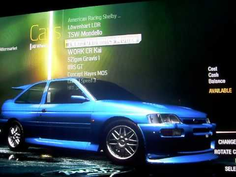 Need For Speed Undercover car customization - YouTube