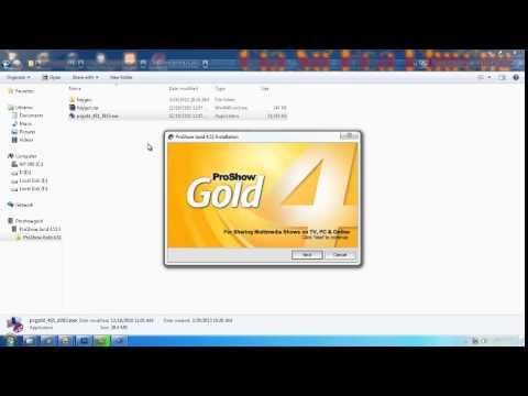 Hướng dẫn làm phim bằng ProShow Gold - phần 1