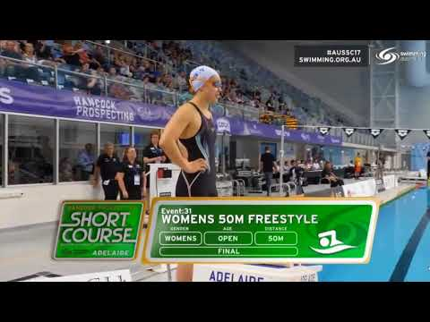 Kyle Chalmers 100 Free Final Hancock Prospecting SC Champs   Adelaide 2017