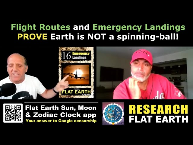 More Flight Anomalies proving F.L.A.T - E.A.R.T.H