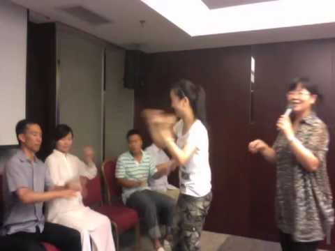 AMAZING STAGE HYPNOSIS DEMONSTRATIONAL VIDEO BEIJING CHINA WITH TOM SILVER HYPNOTIST
