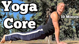 10 Minute Yoga Core Workout | Sean Vigue Fitness