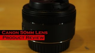 Canon EF 50mm STM Lens Product Review
