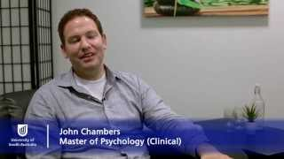 Clinical Psychology graduate John Chambers - University of South Australia