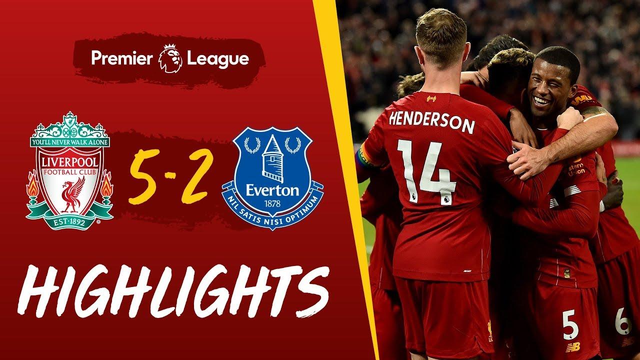 Liverpool 5-2 Everton | Five-star Reds win Merseyside derby | Highlights