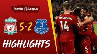 Liverpool 5 2 Everton Five star Reds win Merseyside derby Highlights