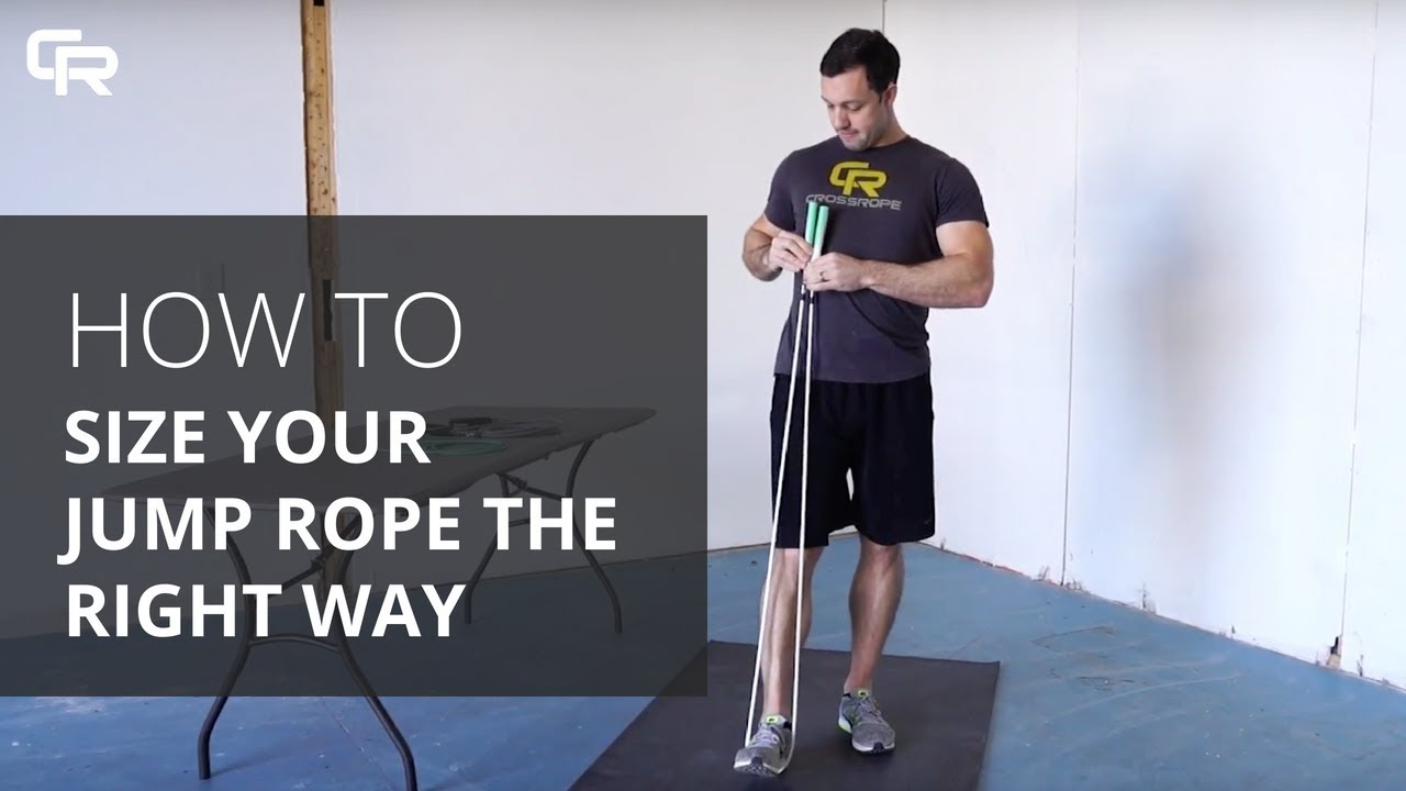 Jump Rope Sizing From Crossrope