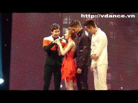 Ngân Khánh múa cột - Bước nhảy hoàn vũ 2014 Bán kết