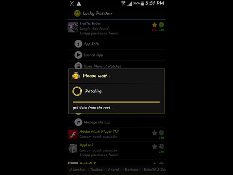 How to hack traffic rider with lucky patcher