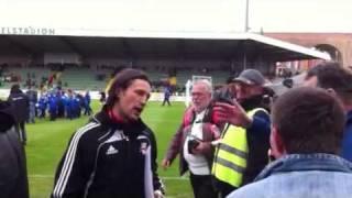 Niko kovac vs. Mattersburg Fans