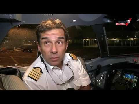 [Vidéo]Guadeloupe. Arrivée du nouvel avion d'Air caraïbes (canal 10)