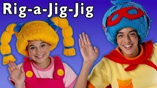 Dance Down the Street! | Rig-a-Jig-Jig and More | Baby Songs from Mother Goose Club!