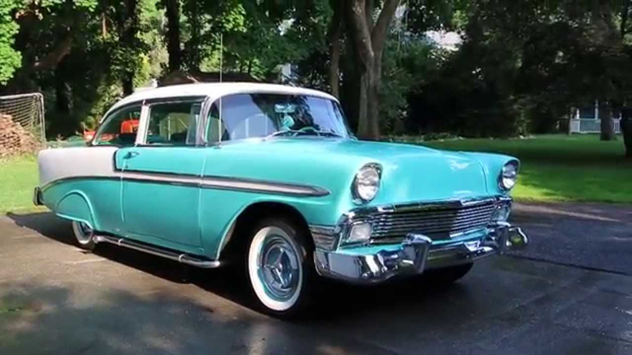 1956 Chevy For Sale~ZZ4 350~Custom Sound~Lake Pipes
