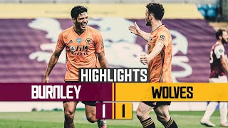 Raul Jimenez stunner spoiled by late penalty drama | Burnley 1-1 Wolves | Highlights