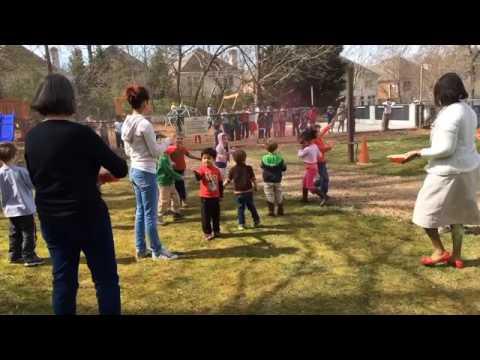 Holi Celebration at Decatur Montessori School