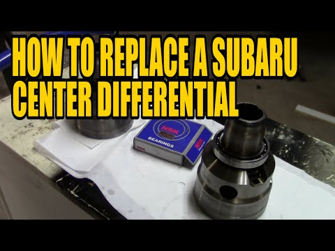How to replace a Subaru Center Differential, Its EASY - YouTube