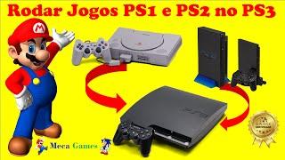 🎮 Como Rodar Jogos de PS1 e PS2 No Seu PS3 Desbloqueado (Simples)