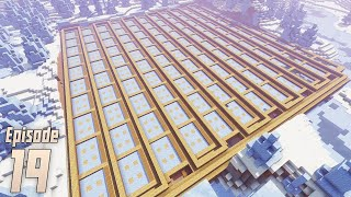 Building the Ice Farm - Minecraft 1.15.2 Episode 19
