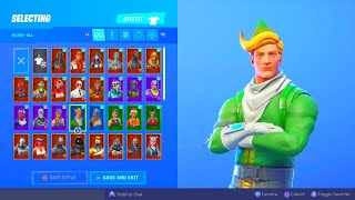 I bought an OG stacked Codename E.L.F fortnite account...