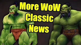 More World of Warcraft Classic News