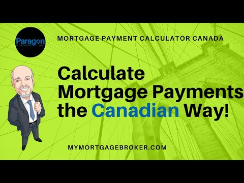 Mortgage Payment Calculator Canada