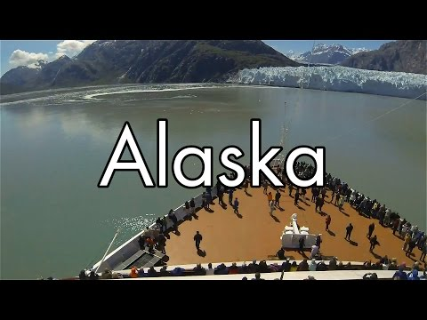 Alaska Cruise (Time-lapse / GoPro) - Holland America Line / MS Oosterdam - 2015