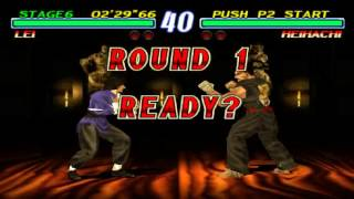 Tekken 2 - Lei Arcade Mode (PS1) thumbnail