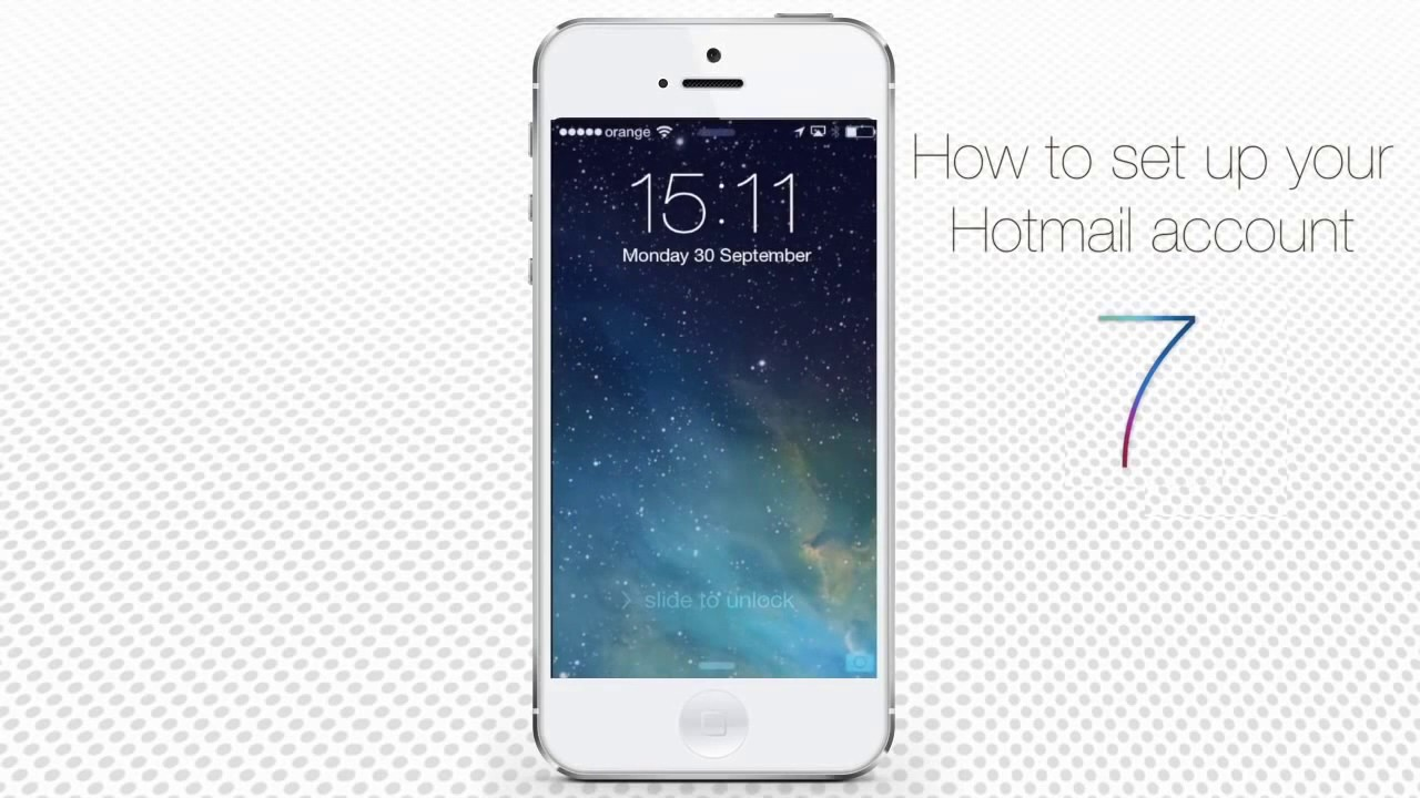 how to set up hotmail on iphone 1 866 208 8685 how to set up and configure hotmail on 20316