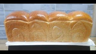 우유식빵 더 쫄깃하고 보들보들하게 만들기/탕종식빵/소형…