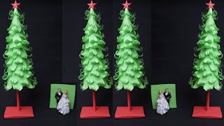 2020 !! Christmas Tree || Very Easy and Beautiful Christmas Tree || Paper Tree