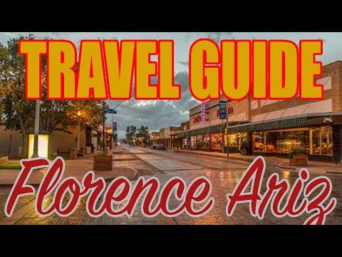The Best Back Roads In Arizona:  Florence, Arizona Travel Guide Along Arizona State Route 79