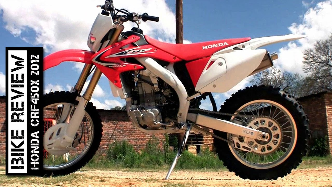 Honda Crf450x 2012 Review Youtube