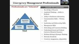 Drury University Emergency Management Information Session with Ryan Nicholls, MS, CEM.