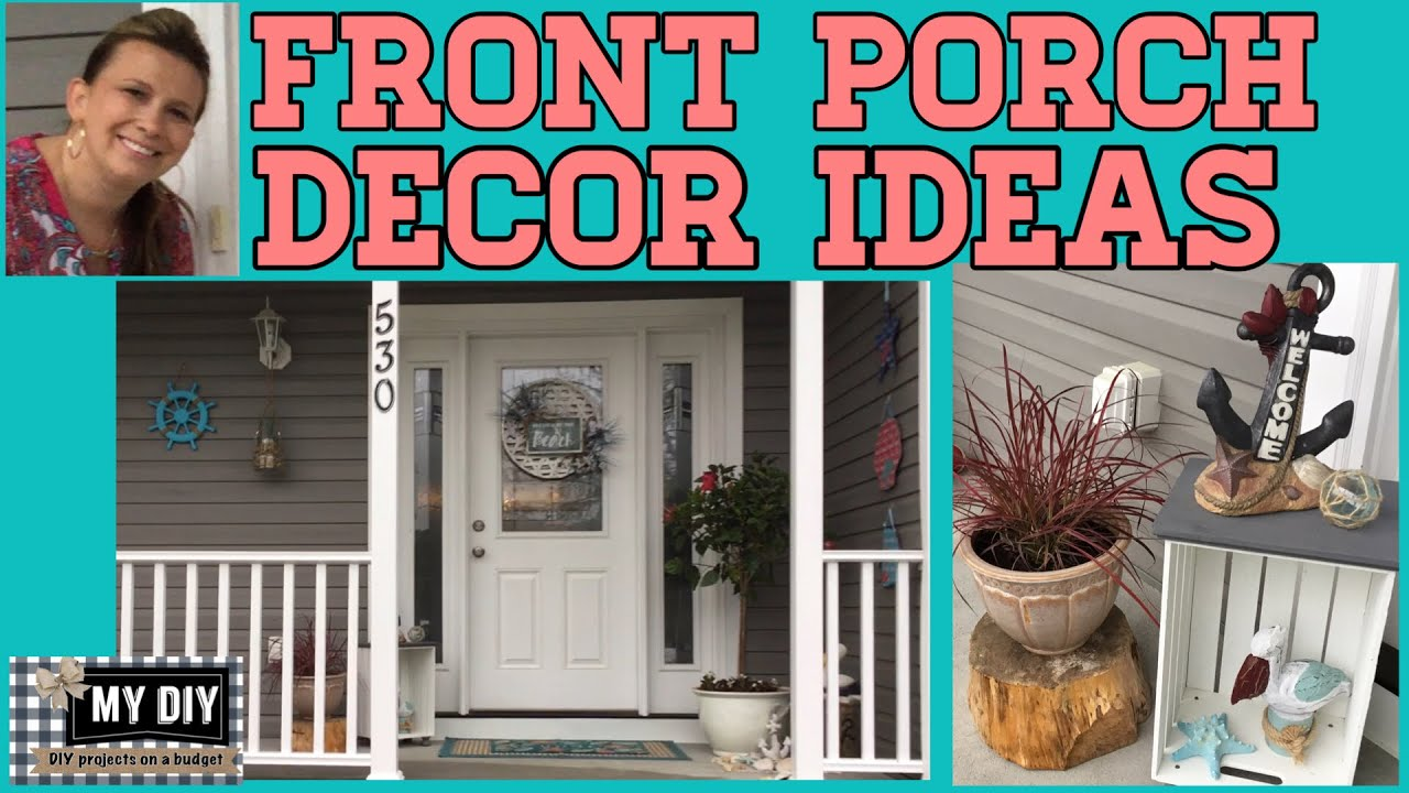 Front Porch Decor Ideas Summer