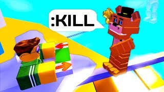 ROBLOX OBBY BUT FREDDY WON'T LET YOU FINISH!
