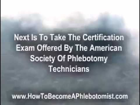 How to become a phlebotomist youtube for How to become a phlebotomist