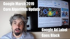 Google March 2019 Core Update (Florida 2), Bing Algorithm & Google Black Ad Label