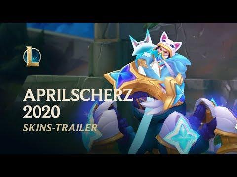 Aprilscherz 2020 | Offizieller Skins-Trailer – League Of Legends