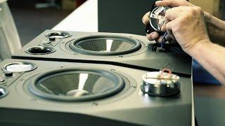 Zu Besuch bei Adam Audio und dem A8X Studio Monitor.