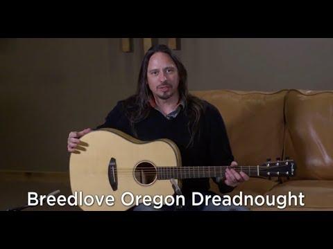 Demo of Breedlove Oregon Dreadnought
