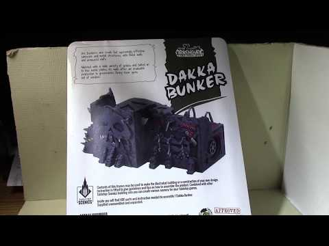 vlog #1129 - Unboxing and review: Kromlech/Tabletop Scenics Orc Dakka Bunker