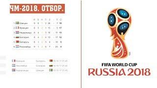 Чемпионат мира по футболу 2018. Отбор Европа группы. A. B. H. результаты, расписание и таблицы(, 2017-10-07T22:27:08.000Z)
