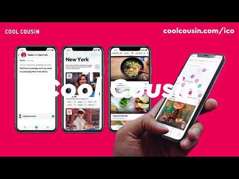 Cool Cousin Pitch Crypto Economy World Tour 2018   London