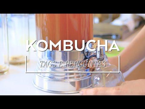 KOMBUCHA: o que é e como fazer | Rodrigo e Beta