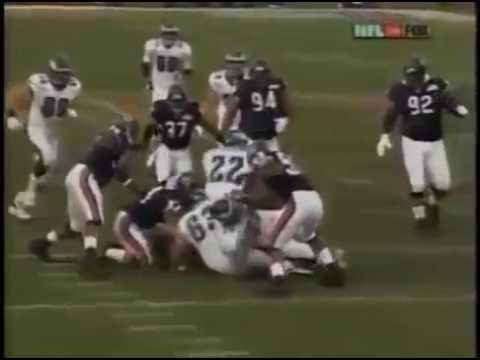 2001 WK 19 NFC Division Playoff Philadelphia Eagles 12 5 @ Chicago Bears 13 3 }\}\