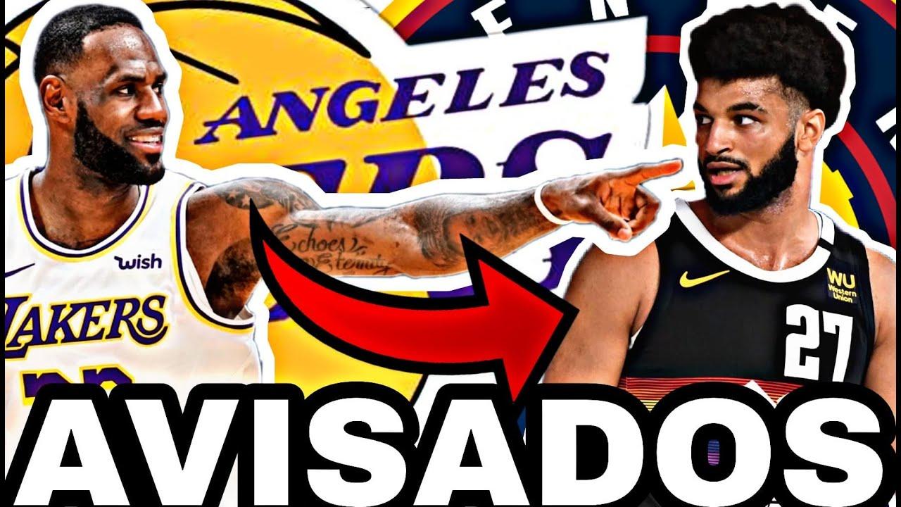 🔥LEBRON y Anthony DAVIS CONTESTAN!! 😱 JAMAL MURRAY PEGA a LAKERS!! 💥 NBA Playoffs 2020