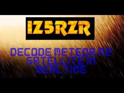 IZ5RZR - decode METEOR M2 satellite in realtime